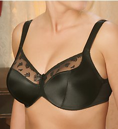 Aviana Satin and Lace Minimizer Bra 2457