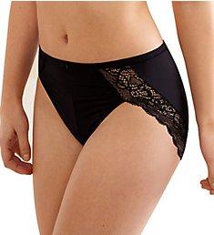 Bali Lace Desire Microfiber Hi-Cut Brief Panty LD62