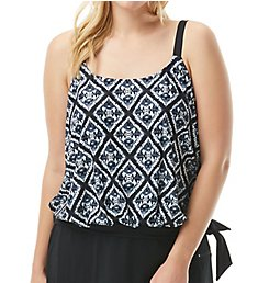 Beach House Woman Diamond Daze Sarah Tie Side Tankini Swim Top HW23012
