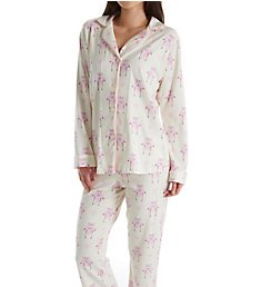 BedHead Pajamas Flamingo Long Sleeve Long Notch PJ 1002SD7