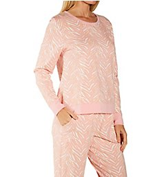 BedHead Pajamas Wild One Pullover Crew and Jogger PJ Set 1021293