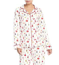 BedHead Pajamas Deck The Halls Long Sleeve PJ Set 2921230