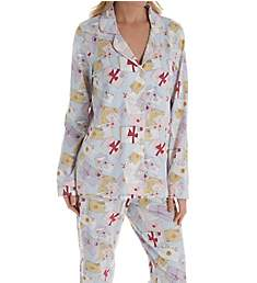 BedHead Pajamas Love Letters Long Sleeve Classic PJ Set 2921240
