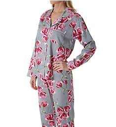 BedHead Pajamas Rosebud Long Sleeve Classic PJ Set 2921241