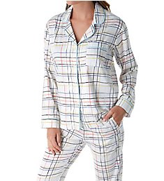 BedHead Pajamas Modern Plaid Long Sleeve PJ Set 292124M