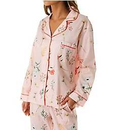 BedHead Pajamas Flower Study Long Sleeve Classic PJ Set 2921277