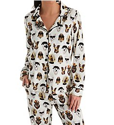 BedHead Pajamas Celebrity Pups Long Sleeve Classic PJ Set 292127C