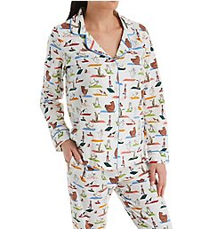 BedHead Pajamas Zen at the Zoo Long Sleeve PJ Set 292127Z