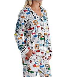 BedHead Pajamas Monopoly Gameboard PJ Set 2921282