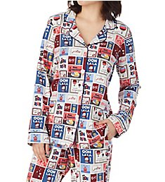 BedHead Pajamas Special Delivery Long Sleeve Classic PJ Set 29212SD