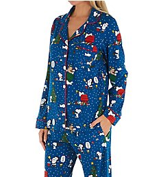 BedHead Pajamas Snoopy Season Organic Cotton PJ Set 2923708