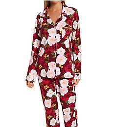 BedHead Pajamas Romantic Roses Long Sleeve Classic PJ Set 292375R
