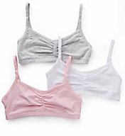 Bestform Strappy Shirred Front Bra - 3 Pack 5006548