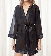 Bluebella Chiffon and Satin Short Kimono 25602