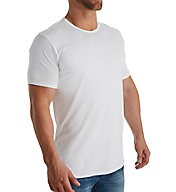 Calvin Klein Liquid Stretch Extended Length Crew T-Shirt NB1213