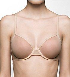 Calvin Klein Sheer Marquisette Unlined Demi Bra QF1680