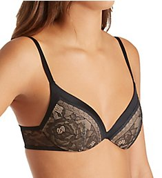 Calvin Klein CK Black Obsess Push Up Plunge QF1941