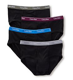 Calvin Klein Cotton Classic Basic Briefs - 4 Pack u4000