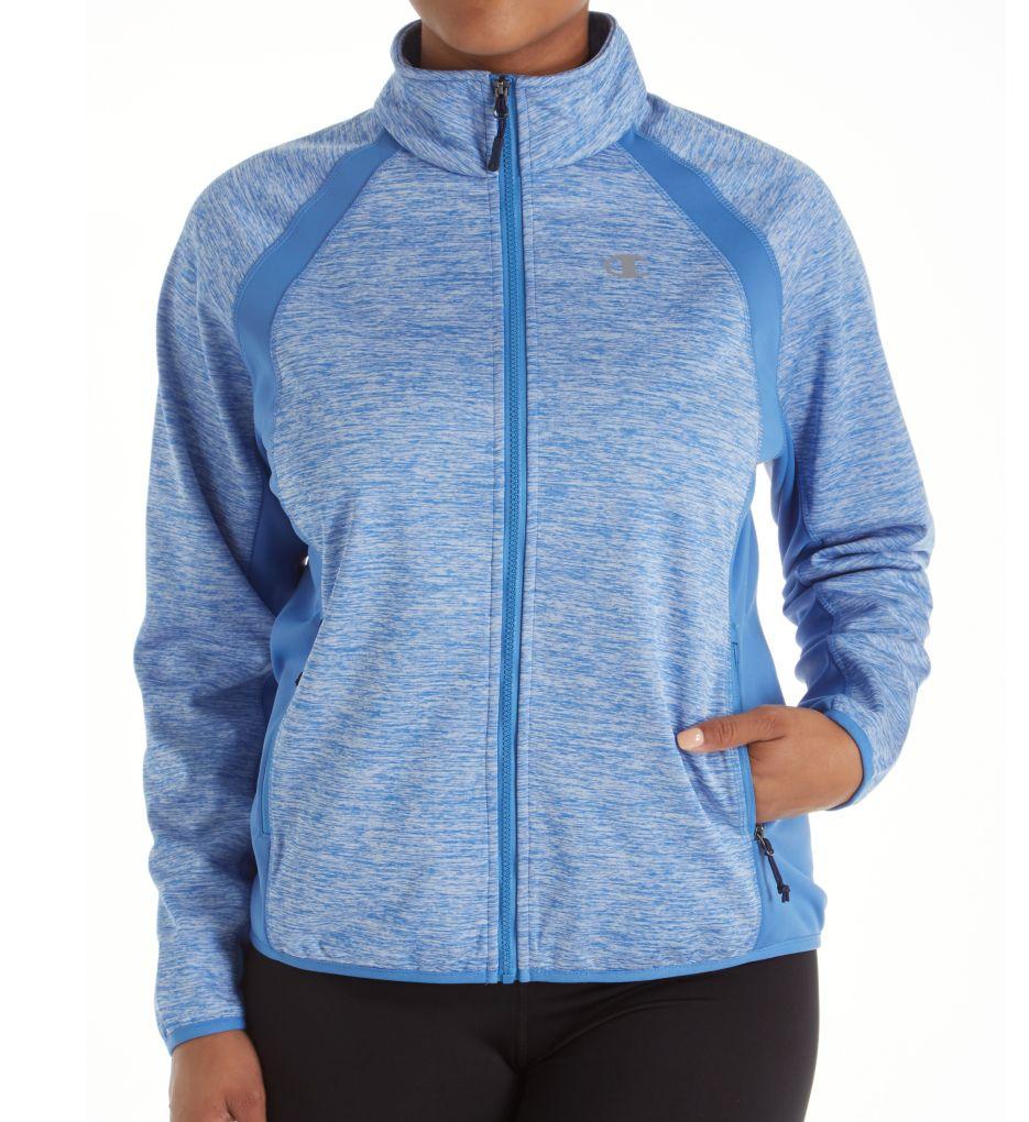 Champion Plus Size Bonded Sport Knit Softshell Jacket 1015KSB