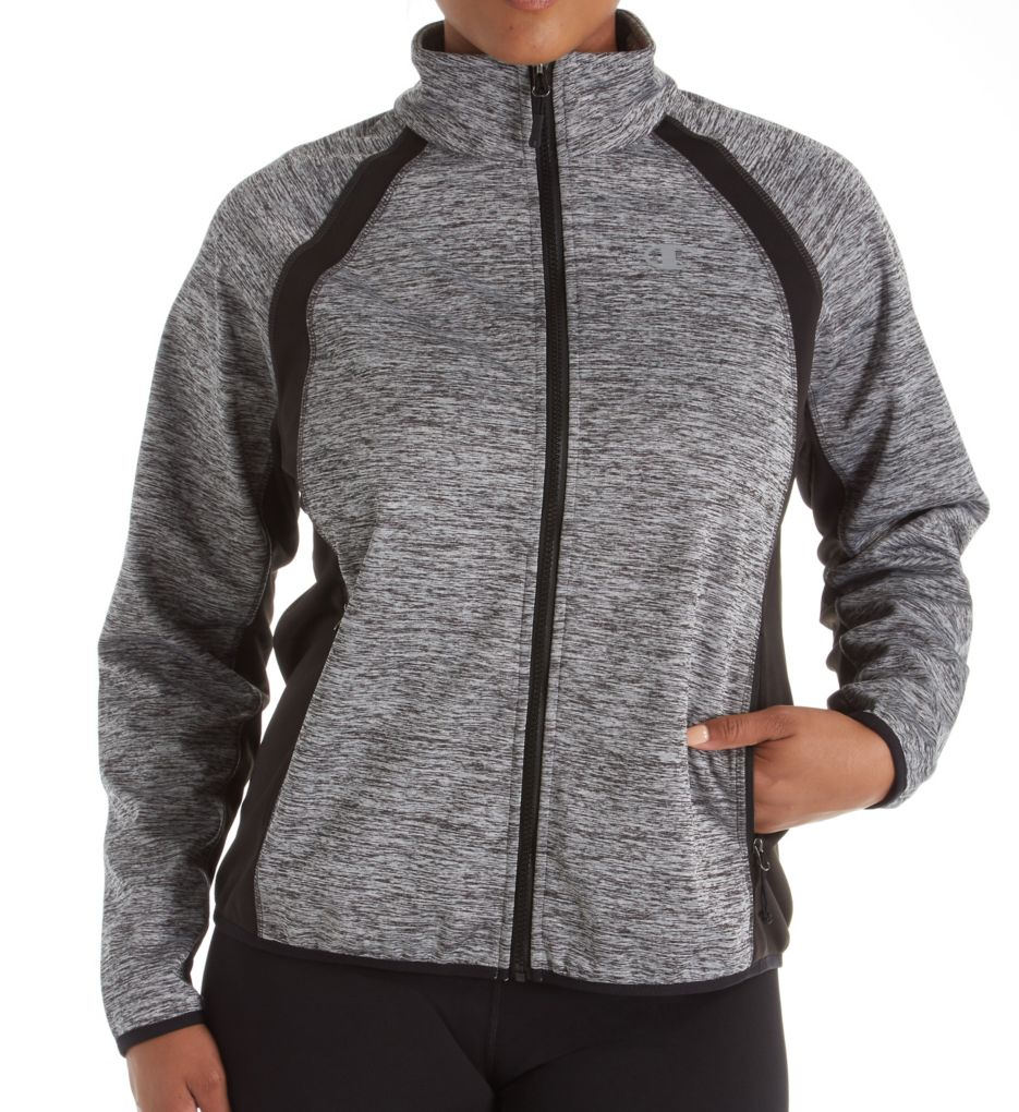 Champion Plus Size Bonded Sport Knit Softshell Jacket 1015KSB