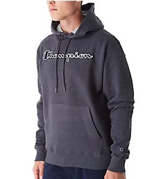 Champion Graphic Powerblend Fleece Hoodie w/Applique GF89H-2