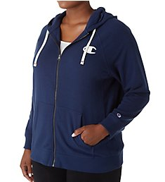 Champion Heritage Plus Size French Terry Full Zip Hoodie QW49265