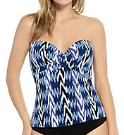 Christina Evening Spell Convertible Tankini Swim Top ES1087