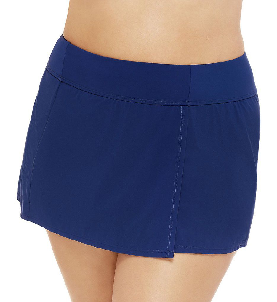 Christina Basic Plus Skirted Brief Swim Bottom ZZ60Y7