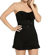Christina Absolute Black Convertible Swim Dress ZZ9017