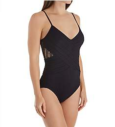 Coco Reef Shoreline V-Neck Tummy Control One Piece Swimsuit T20056