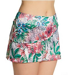 Coco Reef Aloha Allure Mesh Layer Skort Swim Bottom U61126