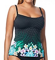 Coco Reef Tropical Escape Underwire Tankini Swim Top U69042