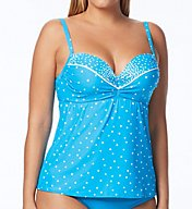 Coco Reef Clarity Dots Underwire Tankini Swim Top U81154