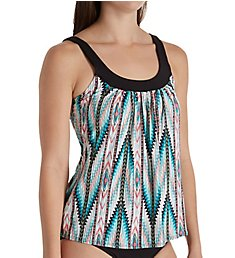 Coco Reef Hidden Mojave Ultra Fit Underwire Tankini Swim Top U94685