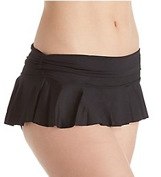 Coco Reef Classic Impulse Rollover Skirted Brief Swim Bottom U95224