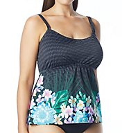 Coco Reef Tropical Escape Plus Underwire Tankini Swim Top UX6918