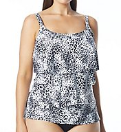 Coco Reef Harmony Underwire Plus Ruffle Tankini Swim Top UX7666