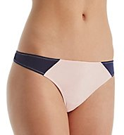 Cosabella Paul & Joe Jeanne Color Block Low Rise Thong JT0321