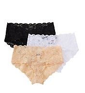 Cosabella Never Say Never Hottie Hotpant Panty - 3 Pack NSP0372