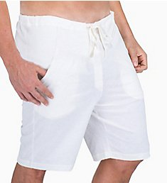 Cottonique Latex Free Organic Cotton Drawstring Lounge Short M17709