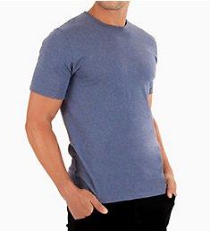 Cottonique Latex Free Organic Cotton Crew Neck T-Shirt M17771