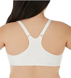 Cottonique Latex Free Racerback Front Close Bra - Queen W12298