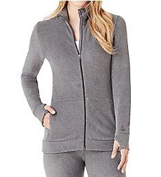 Cuddl Duds Fleecewear with Stretch Full Zip Jacket 8321065