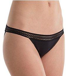 DKNY Classic Cotton Lace Trim Bikini Panty DK5006