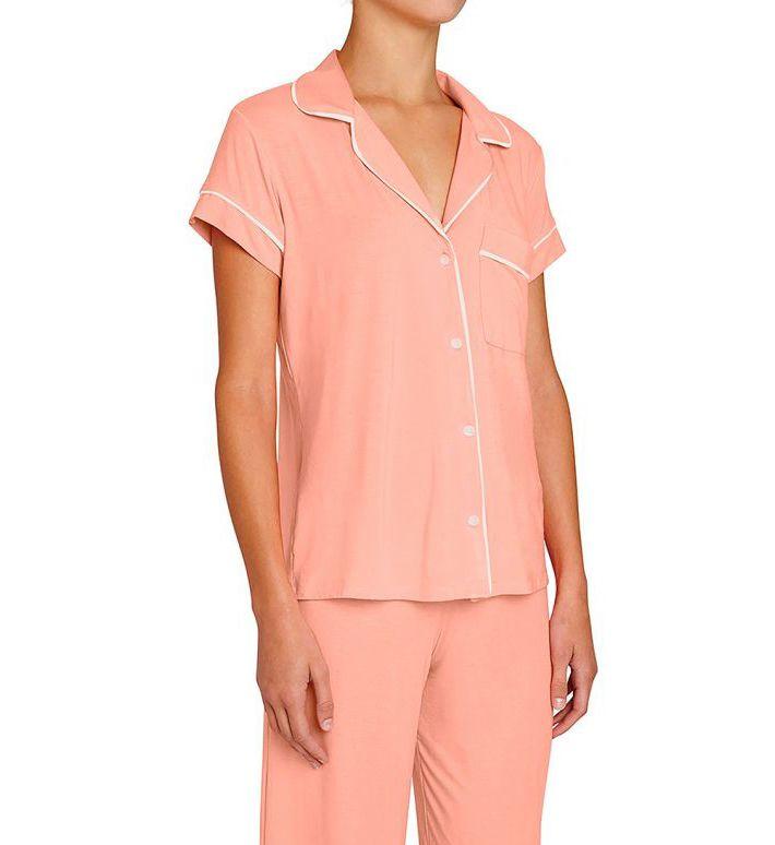 Eberjey Gisele Short Sleeve Cropped PJ 1018TSZ