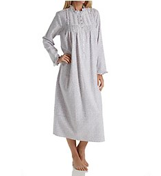 Eileen West Ruby Flannel High Neck Ballet Nightgown 5819822
