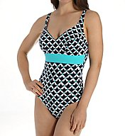 Empreinte Ludique V-Neck One Piece Swimsuit TZ-LUD
