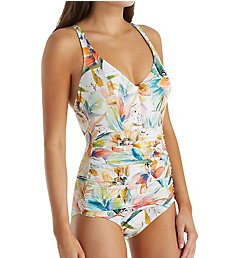 Empreinte Barbade Underwire Ruched One Piece Swimsuit VP-BAR