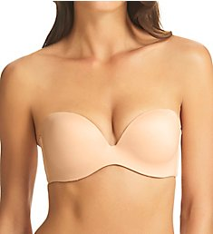 fine lines Memory Low Cut Strapless 4 Way Convertible Bra MM017