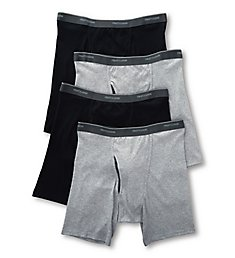 Fruit Of The Loom Coolzone Extended Size Boxer Briefs - 4 Pack 4BL761X